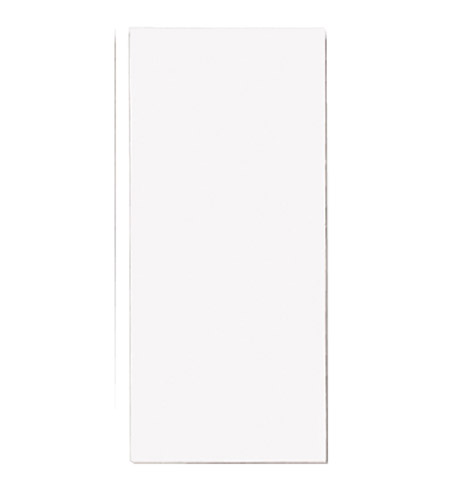 Progress P5970-FBK Address Light White Address Light Tile in Full Width Blank photo
