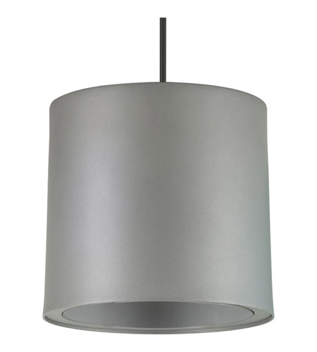 Progress P6009-82 Signature 8 inch Metallic Gray Outdoor Pendant in Metallic Grey photo