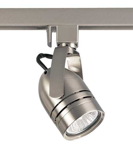 Track Lighting 1 Light 120v Brushed Nickel Mr 16 Line Voltage Head Ceiling