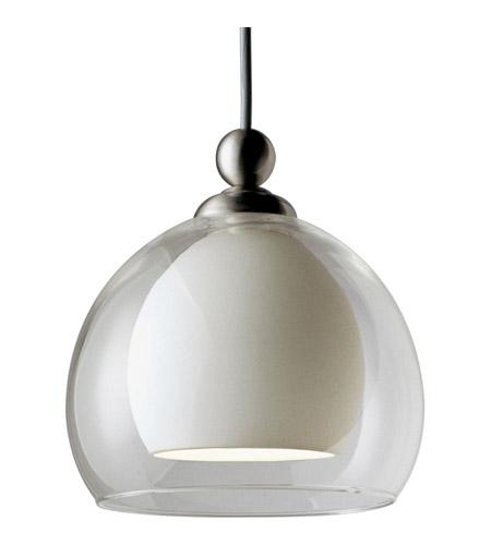 Progress P6135 09w Illuma Flex 1 Light Low Volt Brushed Nickel Track Fixture Ceiling In White Gl