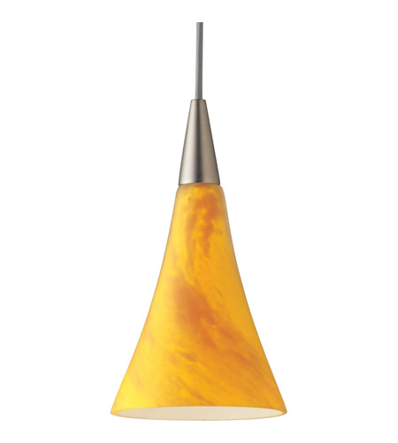 Illuma Flex 1 Light Low Volt Brushed Nickel Track Fixture Ceiling In Yellow Mottled