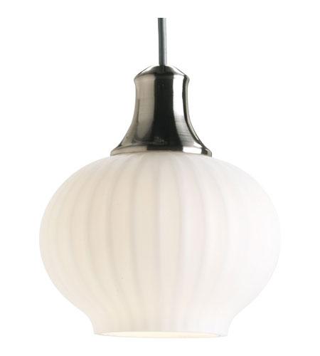 Flexible Track Ceiling Lighting: Progress P6170-09W Illuma-Flex 1 Light Brushed Nickel Flex