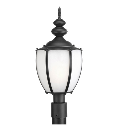 Progress Lighting Roman Coach 1 Light Outdoor Post Lantern in Black P6413-31 photo