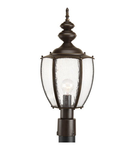 Progress P6417-20 Roman Coach 1 Light 23 inch Antique Bronze Outdoor Post Lantern photo