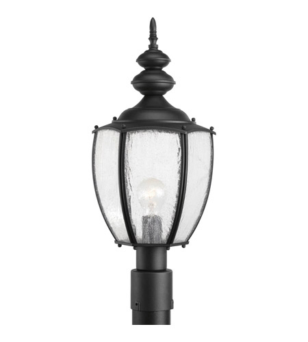 Progress P6417-31 Roman Coach 1 Light 23 inch Black Outdoor Post Lantern photo