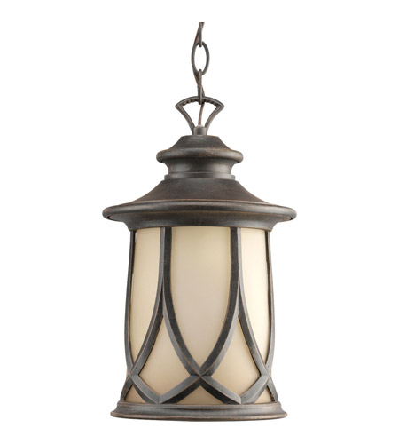 Progress P6504-122 Resort 1 Light 9 inch Aged Copper Outdoor Hanging Lantern photo