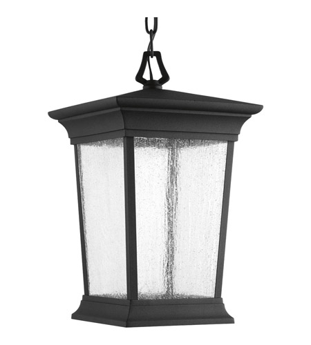 Progress P6527-3130K9 Arrive LED LED 9 inch Textured Black Outdoor Hanging Lantern, Progress LED photo