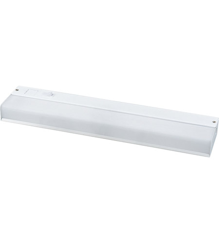 Progress Lighting Hide-a-Lite III 1 Light Undercabinet Light in White P7019-30WB photo
