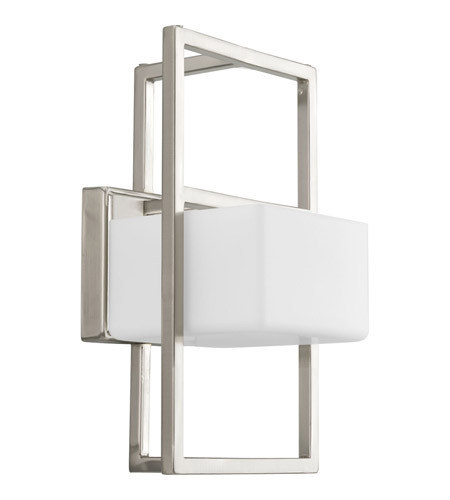 Progress Lighting Dibs 1 Light Wall Sconce in Brushed Nickel P7027-09WB photo