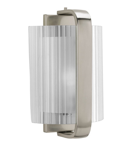 Progress Lighting Signature 1 Light Sconce in Brushed Nickel P7051-09EE photo