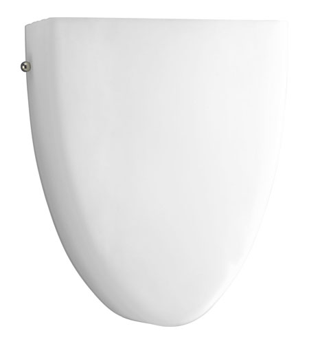 Progress Lighting Signature 1 Light Wall Sconce in White P7073-01 photo