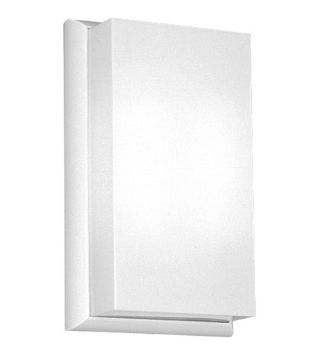 Progress Lighting Energy Efficient Wall 2 Light Wall Sconce in White P7111-30 photo