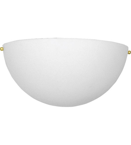 Progress Lighting Signature 1 Light Wall Sconce in White P7123-60 photo