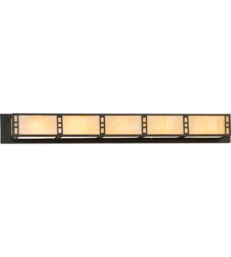 Progress P7140-46EB Arts and Crafts 2 Light 41 inch Weathered Bronze Bath Vanity Wall Light photo