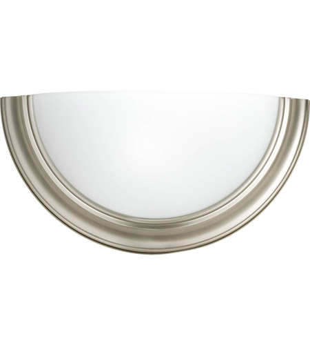 Progress P7171-09WB Signature 1 Light 15 inch Brushed Nickel ADA Sconce Wall Light in Standard photo