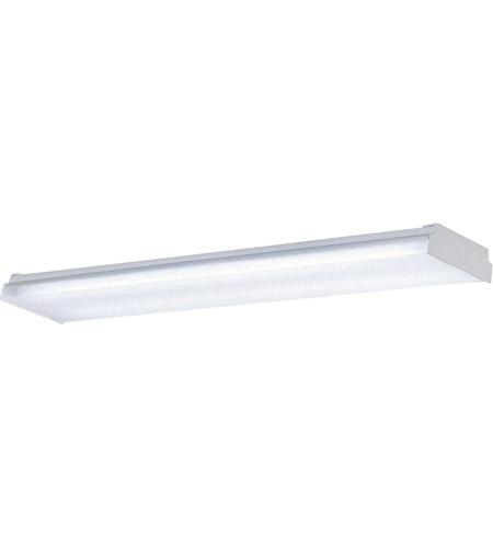 Modular Fluorescent 4 Light 16 Inch White Flush Mount Ceiling