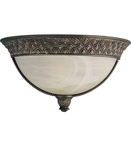 Progress P7209-86STRWB Savannah 1 Light 13 inch Burnished Chestnut Wall Sconce Wall Light in Bulbs Included, Energy Star Rated photo