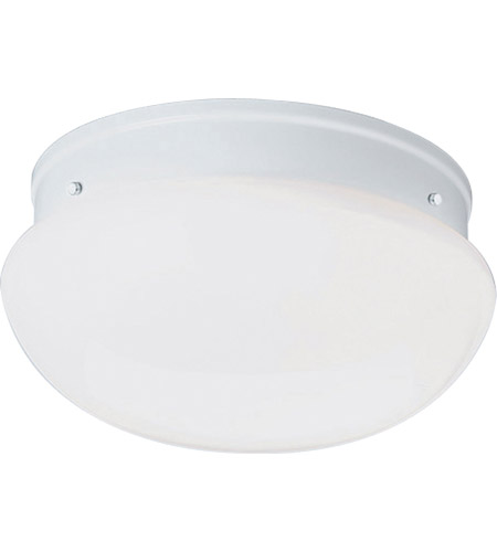 Progress Lighting Melon 2 Light Flush Mount in White P7312-30EBWB photo