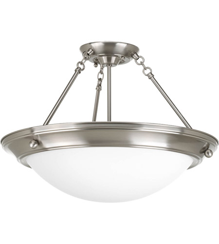 Progress p7329 09wb eclipse 4 light 27 inch brushed nickel close progress p7329 09wb eclipse 4 light 27 inch brushed nickel close to ceiling ceiling light aloadofball Image collections