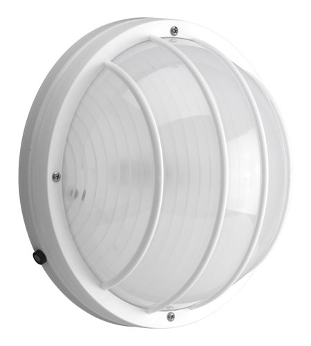 Progress P7337-30EB Polycarbonate Outdoor 2 Light 5 inch White Outdoor Wall Lantern in Bulbs Not Included photo