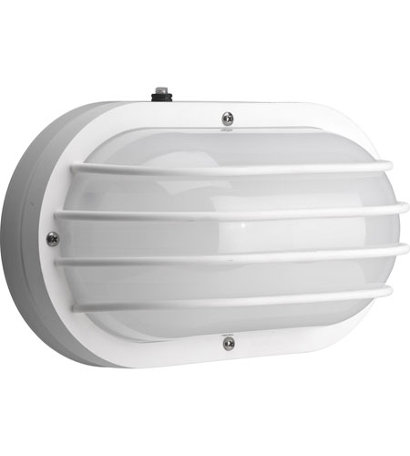 Progress Lighting Polycarbonate Outdoor 2 Light Outdoor Wall Lantern in White P7338-30EB photo