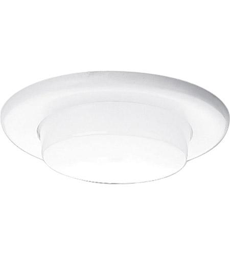 Recessed Lighting White Shower Trim