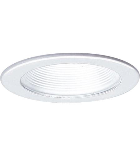 progress p8037 28 recessed lighting white recessed step baffle trim