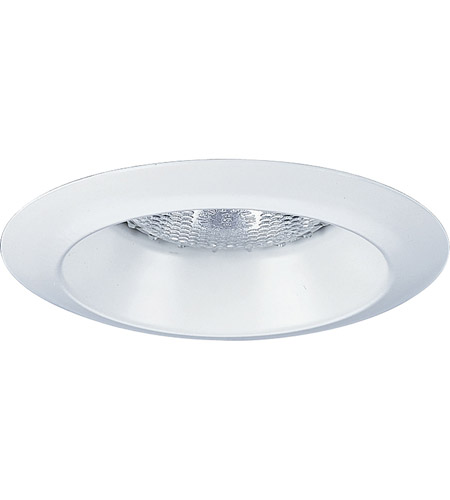 Progress P8041 Wl28 Recessed Lighting White Open Shower Trim In Wet Location Listed