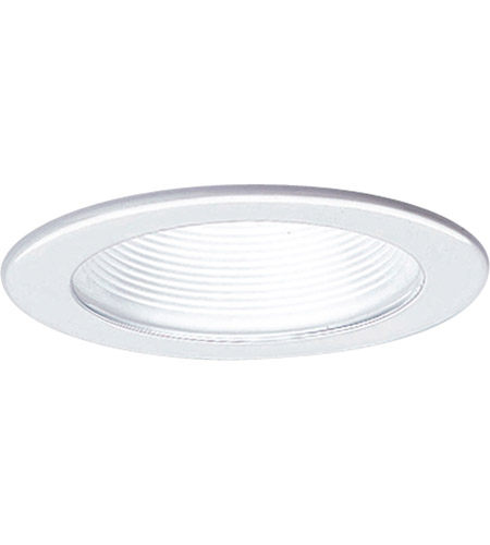 Progress p8044 28 recessed lighting white recessed step baffle trim aloadofball Choice Image