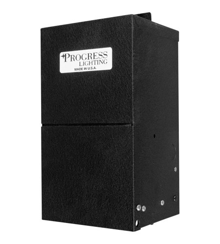 Progress P8655-31 Hide-a-Lite 5 inch Black Undercabinet Transformer photo