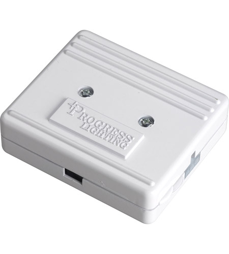 Progress Lighting Hide-a-Lite III Junction Box Undercabinet Component in White P8740-30 photo