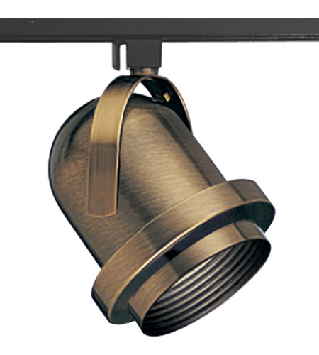 Progress P9209-11 Carillon 1 Light 120 Antique Brass Carillon Track Head Ceiling Light photo