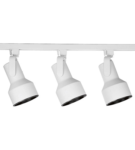 White Alpha Trak Track Lighting