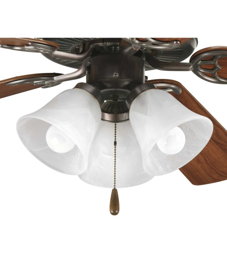 Progress P2600-20WB AirPro LED Antique Bronze Fan Light Kit photo