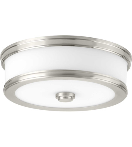Progress P350085-009-30 Bezel LED LED 11 inch Brushed Nickel Flush Mount Ceiling Light, Progress LED photo