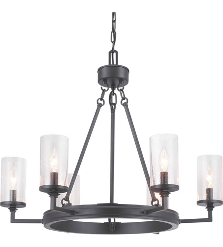 Steel Gresham Chandeliers