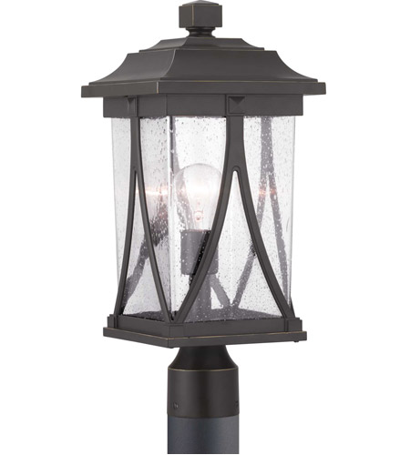 Progress P540011-020 Abbott 1 Light 19 inch Antique Bronze Outdoor Post Lantern photo