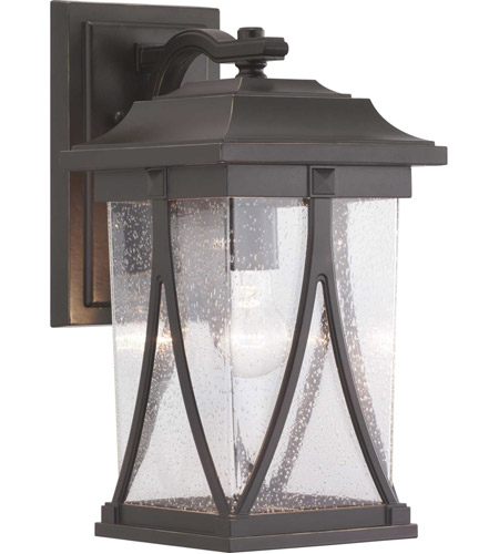 Progress P560114-020 Abbott 1 Light 16 inch Antique Bronze Outdoor Wall Lantern, Medium photo