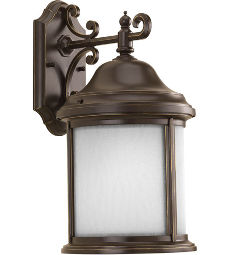Progress P5875-20MD Ashmore 1 Light 17 inch Antique Bronze Outdoor Wall Lantern photo