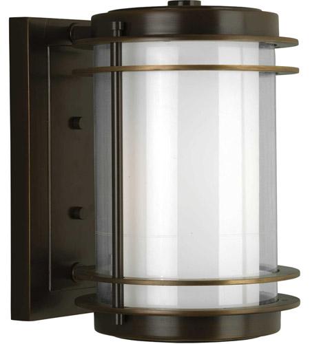 Progress P5896 108 Penfield 1 Light 12 Inch Oil Rubbed Bronze Outdoor Wall Lantern