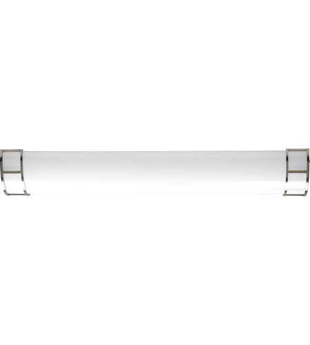 Progress P7258-0930K9 Linear Cloud LED 12 inch Brushed Nickel Linear Flush Mount Ceiling Light photo thumbnail