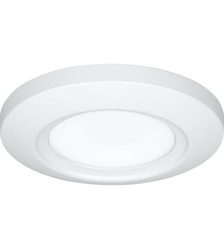Progress P810027-028-30 Slim-Line LED 6 inch Satin White Flush Mount Ceiling Light, Progress LED