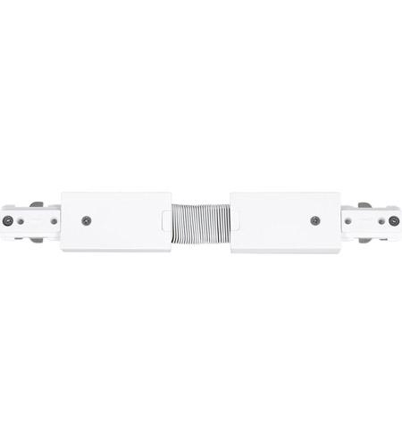 progress p860036 028 led track 120v white flexible track connector