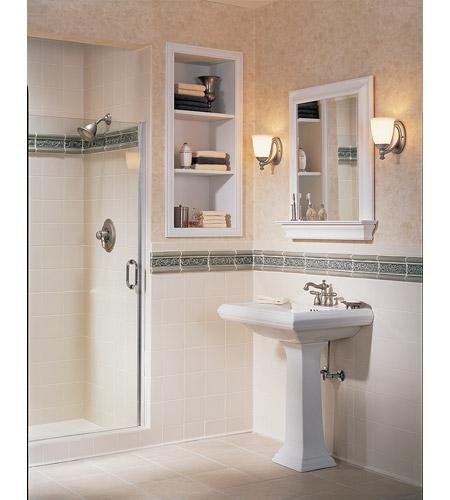 Progress P3029 15 Victorian 3 Light 25 Inch Polished Chrome Bath Vanity Wall Light