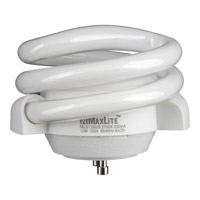 Progress Lighting CFL Lamp 1 Light Light Bulb in White MLS13GUSWW6