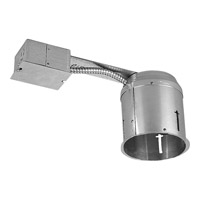 Recessed Lighting Recessed Remodel Housing, 5-inch, IC, Non-IC, Shallow