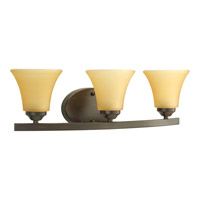 Progress Lighting Adorn 3 Light Bath Vanity in Antique Bronze P2010-20