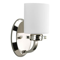 Nisse 1 Light 5 inch Polished Nickel Bath Vanity Wall Light