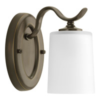 Progress Lighting Inspire 1 Light Bath Vanity in Antique Bronze P2018-20 alternative photo thumbnail