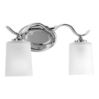 Inspire 2 Light 15 inch Chrome Bath Vanity Wall Light
